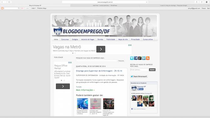 blog do emprego df