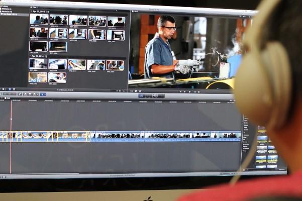 Aprenda a editar vídeos com aulas gratuitas pela internet. (Foto Ilustrativa)