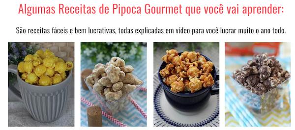 Curso de Pipoca Gourmet Com certificado