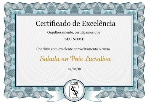 certificado saladas