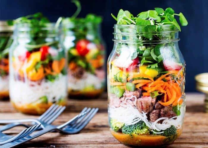 salada no pote lucrativa