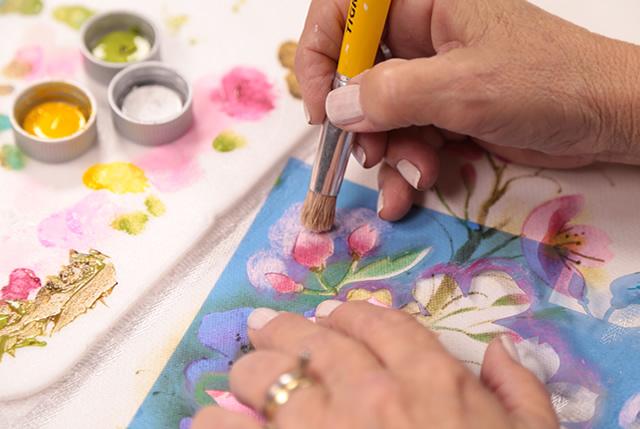 curso de pintura stencil