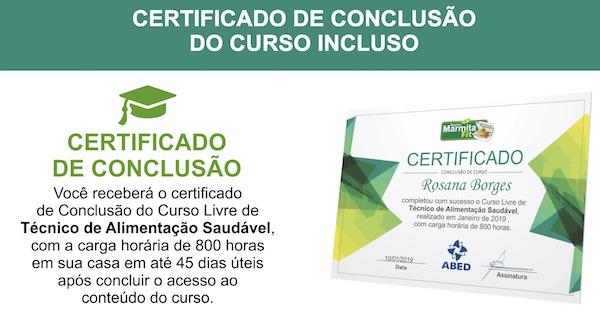 curso de marmita fit com certificado