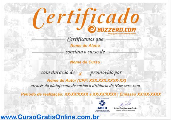 buzzero certificado