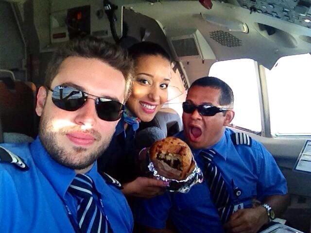 aeromoca e piloto