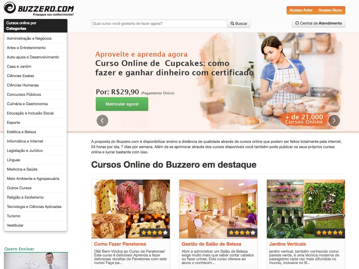 Buzzero Cursos Online Gratuitos 2021