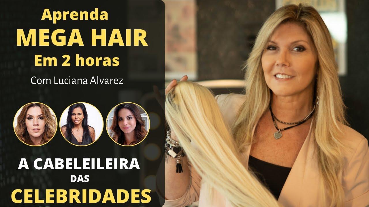 curso mega hair luciana alvarez