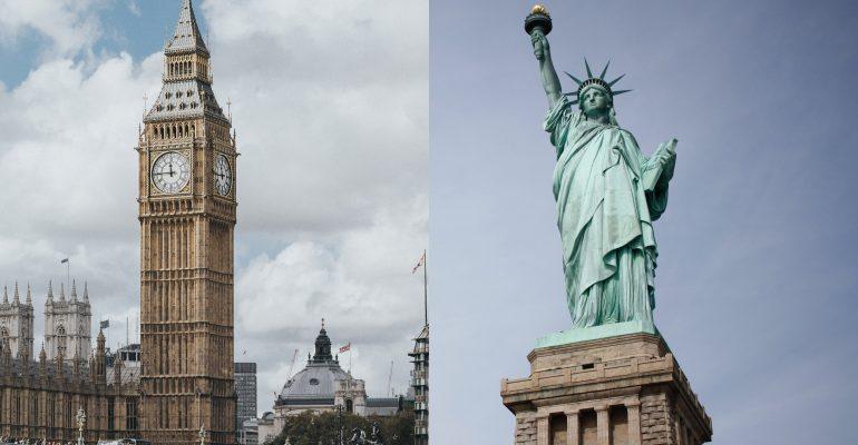 Diferenças entre o inglês norte-americano e britânico